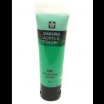 SAKURA ACRYLIC 75ML EMERALD GREEN