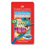 FABER-CASTELL Metal Tin 12 Color (Fish)