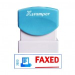Self Ink Stamp - Faxed