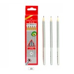 FABER-CASTELL Triangular Graphite Pencil 2B - Pack of 12