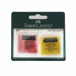 Faber-Castell Kneadable Eraser Coloured 2PC BC-127122