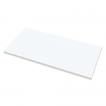 Fellowes Levado Work Top - Size :- 1400mm x 800mm x 25mm & White Color