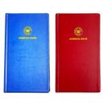 FIS®ADDRESS BOOK PVC 115X217MM ENGLISH 52 SHEET