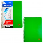 FIS® D5 SOFT PP COVER. NOTEBOOK ,100 SHEETS