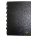 FIS SPIRAL COVER NOTE BOOK A5 SIZE, 100 SHEETS