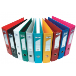 Boxfile (FIS) A4 size Narrow 4cm PVC - Colour