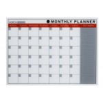 Bi-Office Glass Monthly Planner
