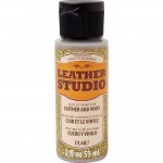 LEATHER STUDIO PAINT GOLD GLITTER 2 OZ.
