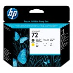 Hp 72(9384) Matt Blk & Y