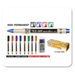OHP Marker Non Permanent Tex460B (multi colour) Pack