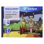 SADIPAL Coloured Card Board Colour Sheets-10 Assortedt.Colour Sheets-32x24cm