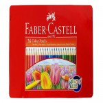 FABER-CASTELL Metal Tin 36 Color