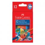 Faber-Castell r/LineWater Colour Pencil 12sh