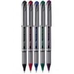 Pentel BL27 Energel Roller Pen Metal Tip 0.7mm Wallet of 5 Pcs
