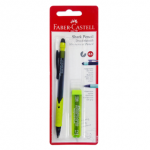 FABER-CASTELL SHARK PENCIL 0.5MM IN BLIS OF 1PC+1TUBE LEAD