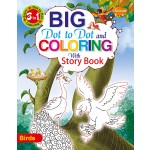 SAWAN - 3 IN 1 BIG DOT TO DOT & COLOURING WITH STORY - BIRDS