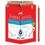 FABER-CASTELL Junior Grip Pencils Black Display of 72pcs
