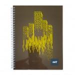 LIGHT® SPIRAL SOFT COVER NOTEBOOK 9x7 - MODEL 2