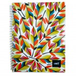 LIGHT® SPIRAL SOFT COVER NOTEBOOK - MODEL 1
