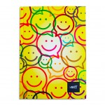 LIGHT® HARD COVER NOTEBOOK SINGLE LINE, A5 - MODEL 1