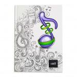 LIGHT® HARD COVER NOTEBOOK SINGLE LINE, A5 - MODEL 2