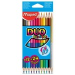 Maped Color Peps Double Ended Pencils 12=24Colors