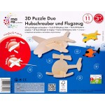 mara 3D Puzzle Helicopter and Aeroplane