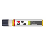 Marabu 3D-Liner, 621 3D-medium yellow, 25 ml