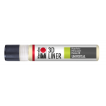 Marabu 3D-Liner, 622 3D-pastel yellow, 25 ml
