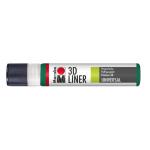 Marabu 3D-Liner, 667 3D-rich green, 25 ml