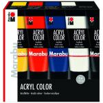 "Marabu Acryl Color 5 pc assortment ""Basic"""