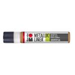 Marabu Metallic-Liner METALLIC-COPPER 787, 25 ML