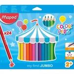 Maped Color Peps Jumbo 24 Color set