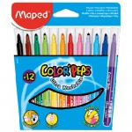 Maped Color Peps Felt Tip 12Color Closed Box