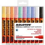 MOLOTOW™ 227HS Pastel-Set - 4mm pkt of 10