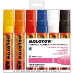 MOLOTOW™ 627HS Basic-Set 1 - 15mm pkt of 6