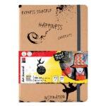 Marabu Art Journal Notebook, DIN A4, 21 x 29,7 cm, 180 g/m, 72 sheets