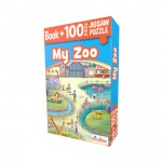 BUSYBEE-BOOK + 100PC JIGSAW PUZZLE - MY ZOO