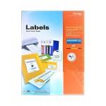 Formtec Label 140/192x39mm Blister Pack of 20 Sheets