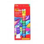 Funbo Gouache Paint 12ml Tubes Set of 12 Colors
