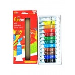 Funbo Oil Paint 12ml Tube Set of 12 Colors