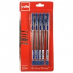 Cello Soft tip .7mm 5 PC Pouch Blue
