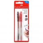 FABER-CASTELL Gel pen Excel Gel 0.7 Black/Red 2x BC
