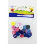 Asstd. Color Buttons for Craft