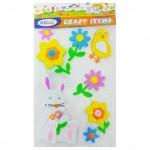 Decorative EVA Sticker Flower & Bird