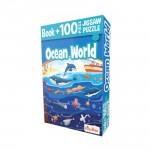 BUSYBEE-BOOK + 100PC JIGSAW PUZZLE - OCEAN WORLD