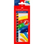Oil Pastels Fabercastell Round 60mm 10.5mm 12clr