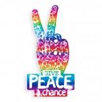 TFD-FOIL RAINBOW PEACE CHANCE