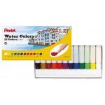 Pentel HTP Water Colour Paint Set of 12 Colors