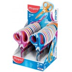 Maped Scissor 13cm Asym Zenoafit display of 24Pcs